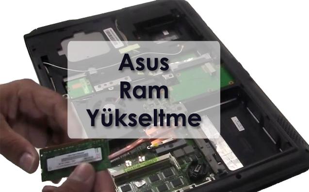 Asus Laptop Ram Yükseltme