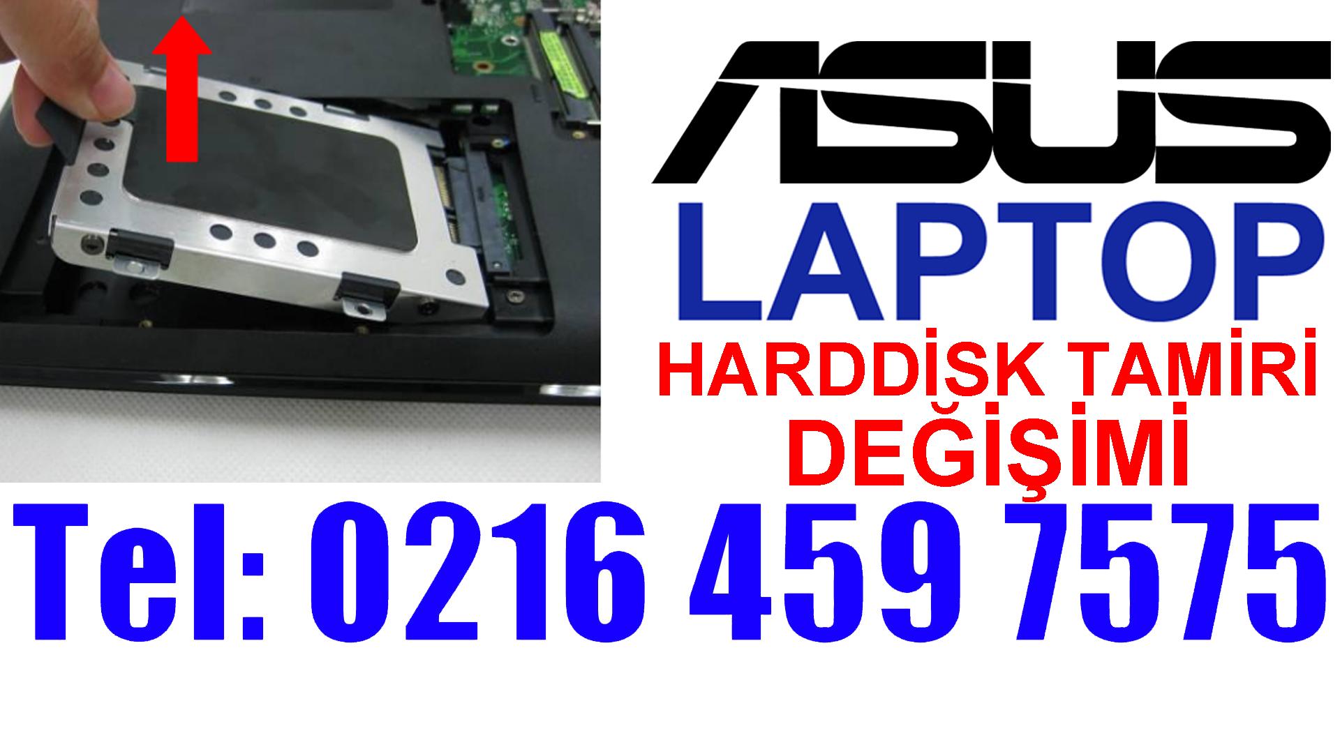 Asus Laptop Harddisk Tamiri ve Değişimi